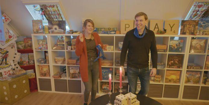 Elisa en Peter Kettelarij kregen de verrassing van hun leven, een  eigen spelletjeszolder.
