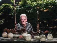 Ruud vond houten kroonluchters. En meer