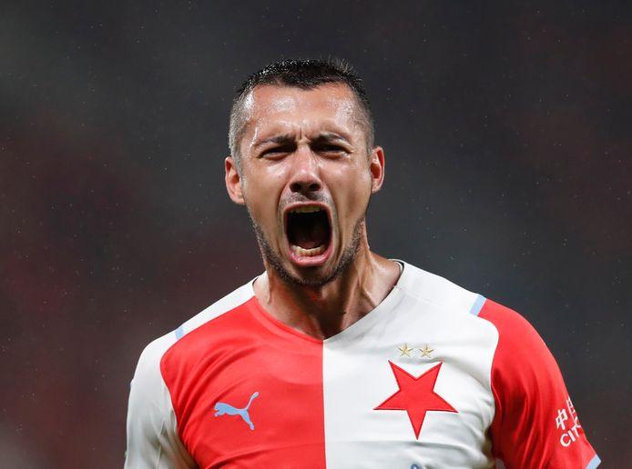 Ivan Schranz van Slavia Praag.