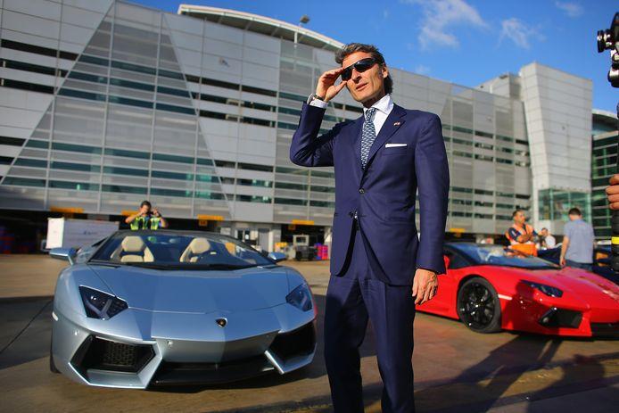Lamborghini-topman Stephan Winkelmann.