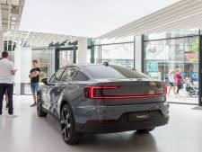 Showroom van automerk Polestar in hartje Eindhoven