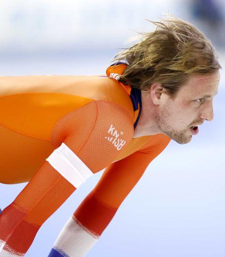 Die 'speciale rit' zat er voor Zwolse schaatssprinter Ronald Mulder niet in op het WK