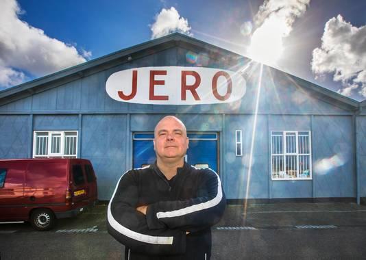 Sandro Bruti vreest voor het voortbestaan van familiebedrijf Jero.