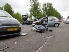 Spookrijder veroorzaakt ongeluk op Spijkenisserbrug