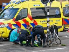 Fietser gewond na botsing met auto, automobilisten negeren afzetting politie