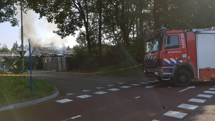 Brand in Ede.