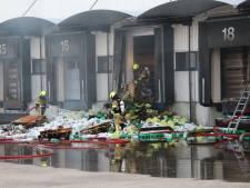Grote brand in voormalig pand Neckermann.com in Sint Jansteen