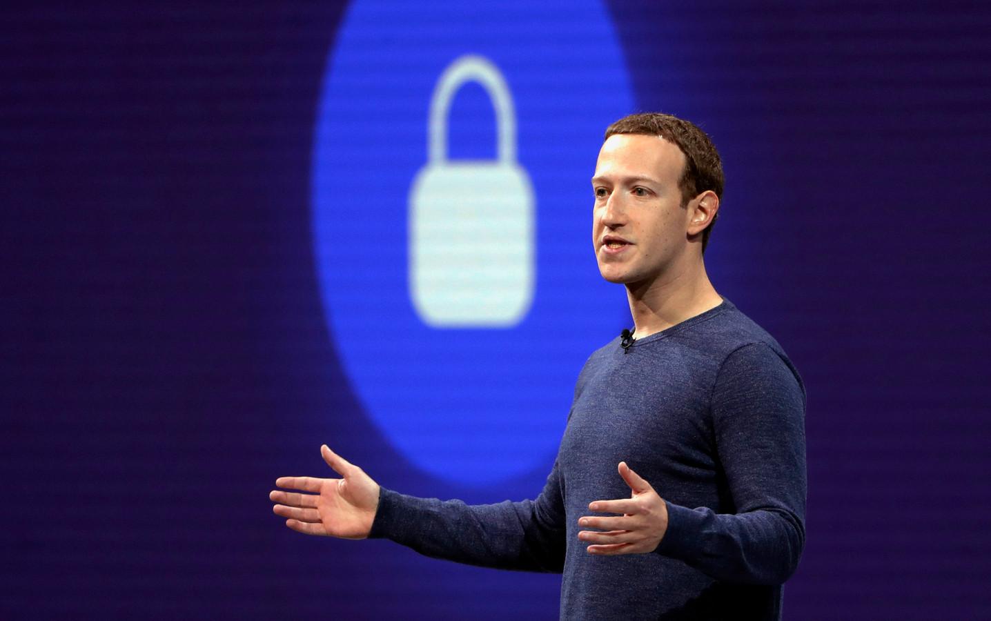 Le patron de Facebook Mark Zuckerberg.