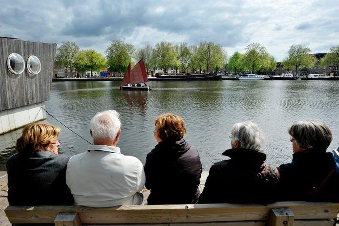 In 2010 was de Piushaven het decor van een bevrijdingsfestival.