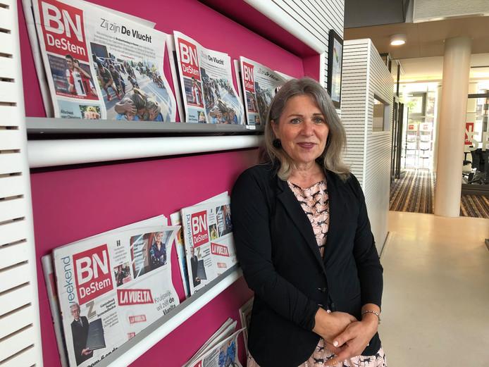 Verslaggever Annelies Vlaanderen