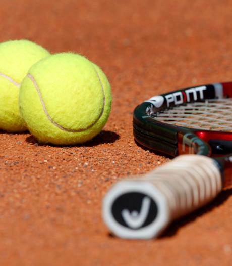 Tennisser Jordy Visser in kwartfinale bij NJK