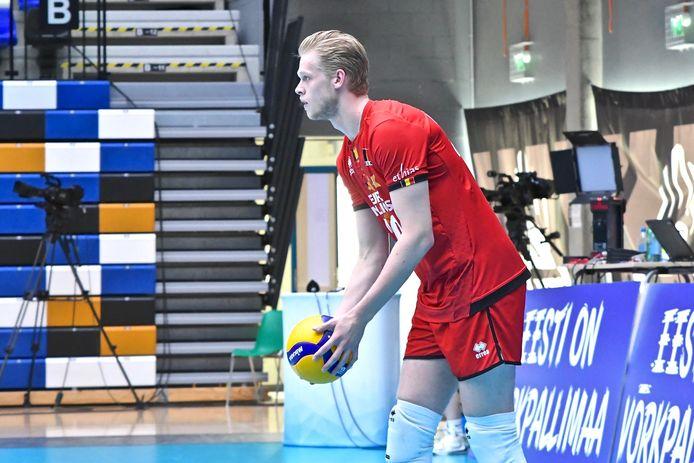 Mathijs Desmet hier in actie op een vorig toernooi in Estland.