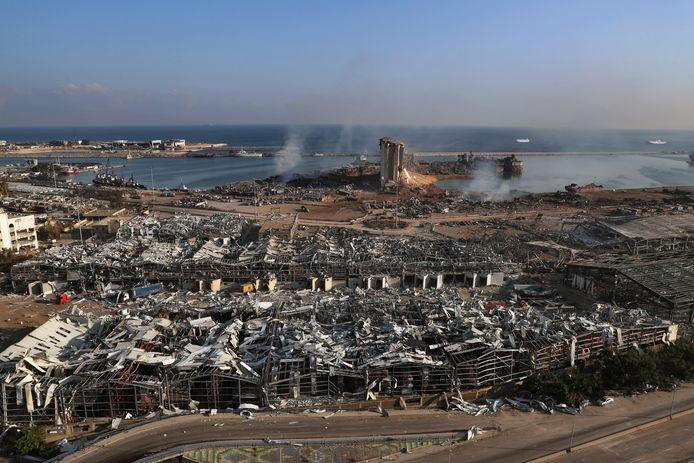 Het gaat om dezelfde chemische stof die leidde tot de verwoestende ontploffing vorig jaar in de haven van Beiroet, waarbij meer dan 200 mensen omkwamen.