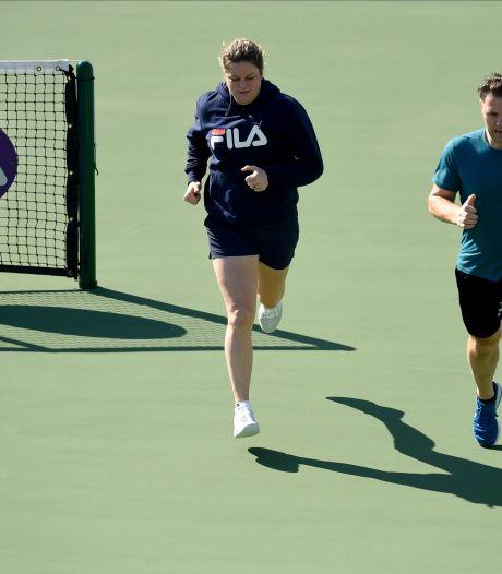 """Clijsters a foulé le court central à Dubaï: """"Pas ici pour développer ma vie sociale"""""""