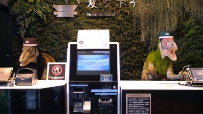 Japanse hotelketen ontslaat massaal zijn robots