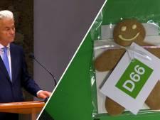 Wilders krijgt na kritiek op genderonderwijs 'gendercookie' van D66
