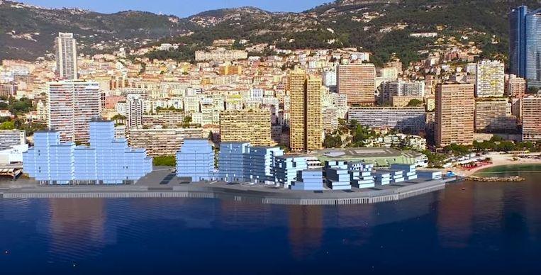 Uitzicht van de skyline zoals het in 2025 moet zijn. Beeld Valode & Pistre/Bouygues Construction