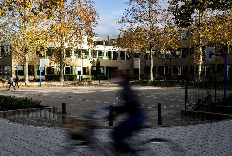 Het Emmauscollege in Rotterdam.  Beeld ANP