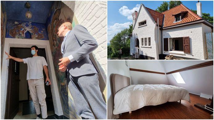 Het Herman Teirlinckhuis in Beersel is helemaal gerestaureerd. Wij namen samen met Vlaams minister Ben Weyts (N-VA) een kijkje.