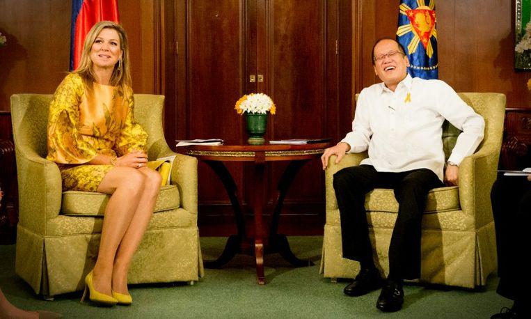 Máxima brengt bezoek aan Filipijnen