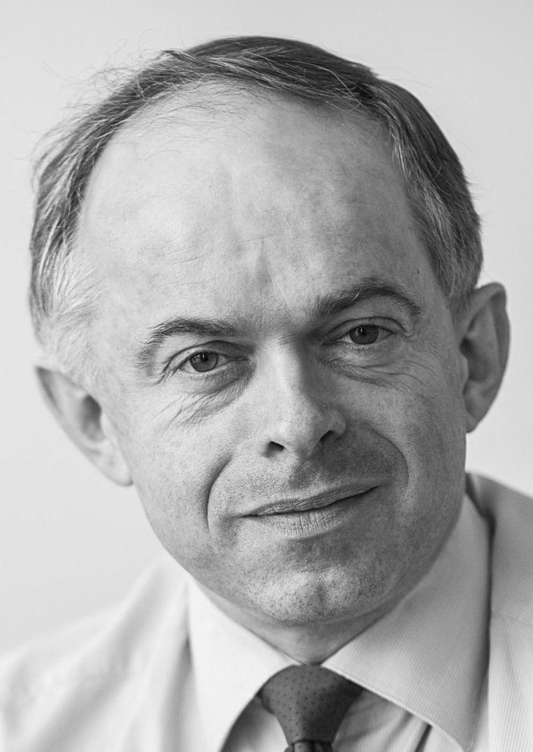 Nico van Eijk, hoogleraar bij het Instituut voor Informatierecht van de UvA Beeld Jeroen Oerlemans