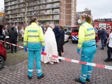 Brandweer achter het stuur van de ambulance bij code zwart