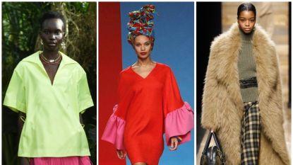 Het is zoeken naar trends op modeweken: in zotte wereld moet mode niet té zot doen