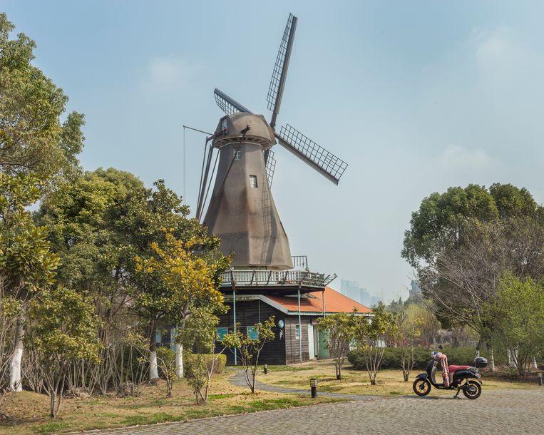 Het stadje Zaanse Schans (origineel in Nederland) Beeld PAULINE NIKS