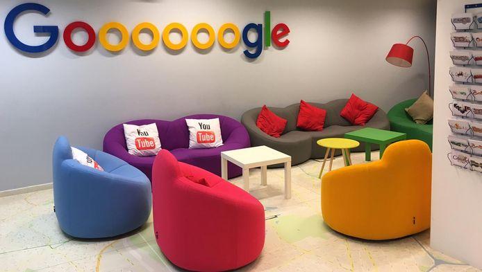 Les bureaux de Google à Bruxelles.