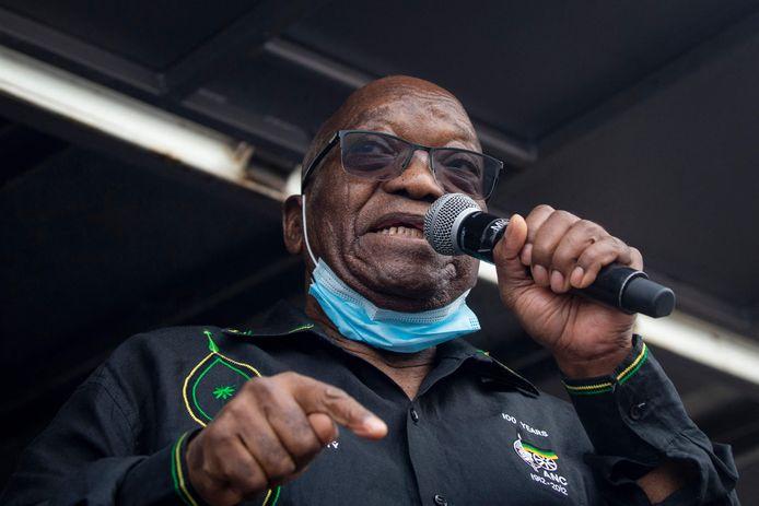 De Zuid-Afrikaanse ex-president Jacob Zuma.