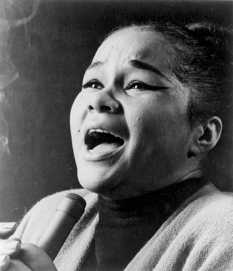 Etta James in 1960 Beeld getty