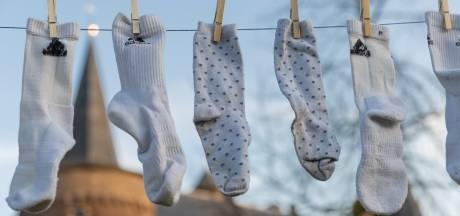 Sokkeninzamelaars gezocht voor wereldrecordpoging langste waslijn