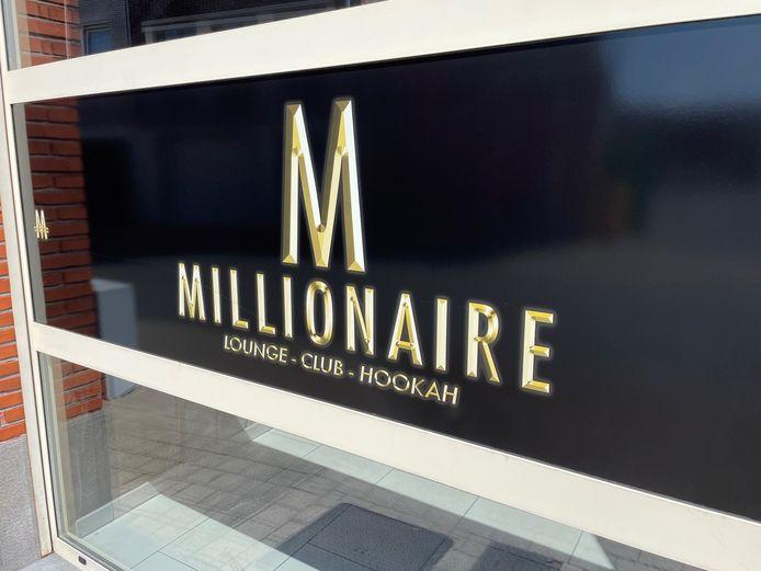 De Millionaire shishabar in Wevelgem kon de deuren nog niet lang openen.