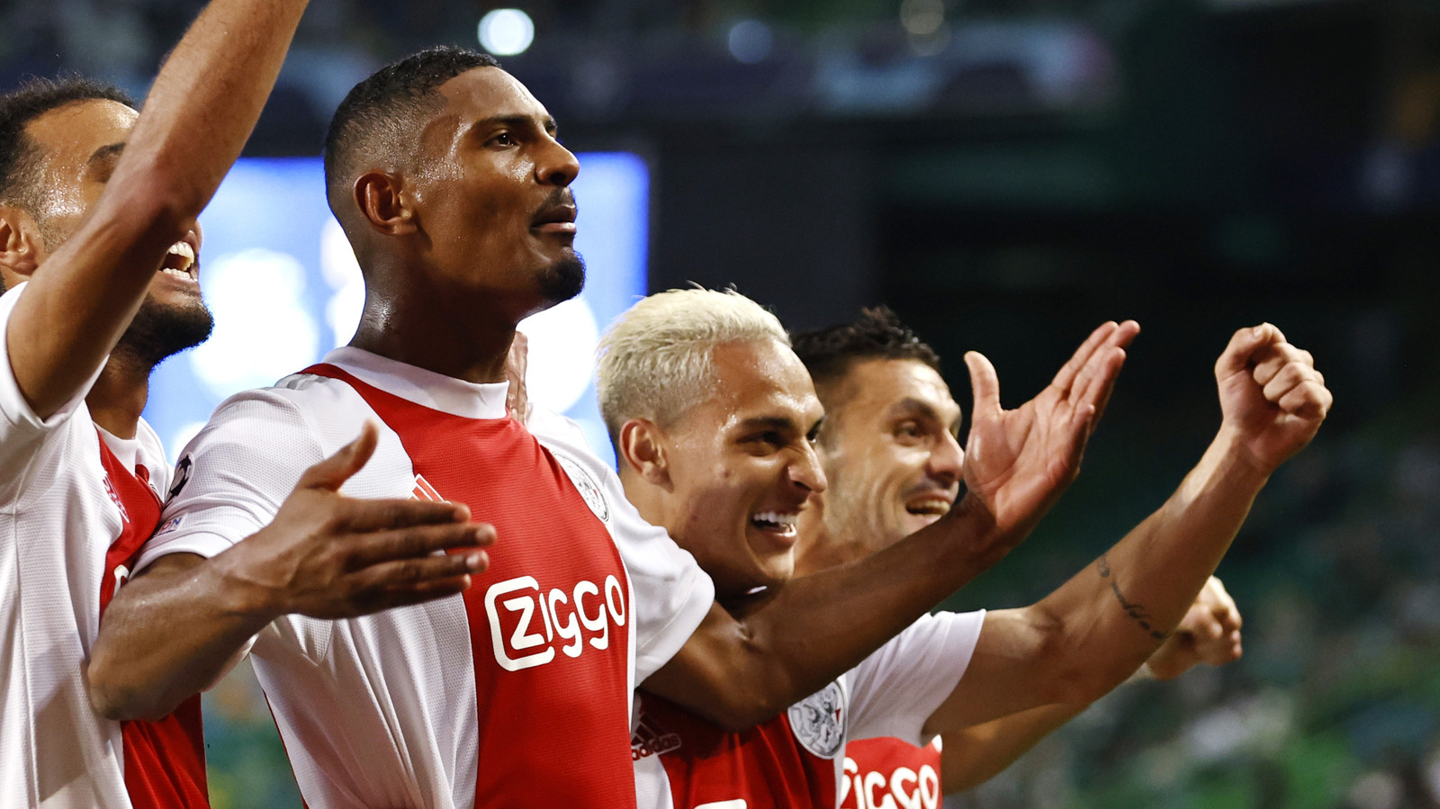 Sébastian Haller is de grote man bij Ajax.