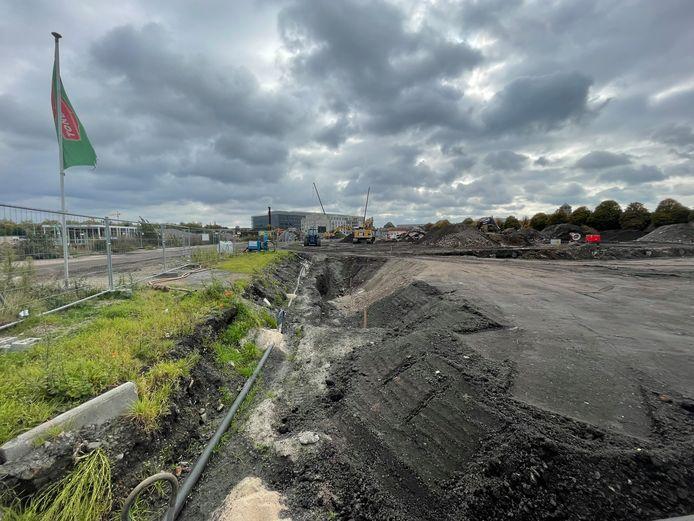 Op de Tondelier-site gaan de werken onverminderd voort.