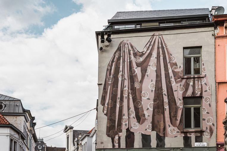 Street art in Gent. Beeld Michiel Devijver