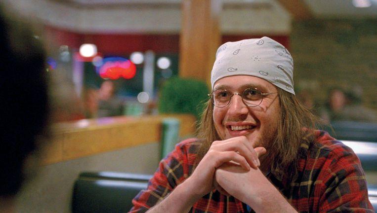 Jason Segel als David Foster Wallace. Beeld .