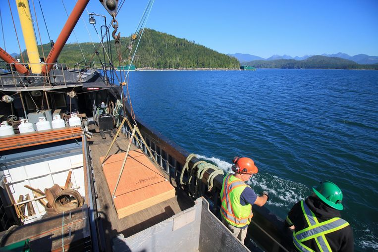 Aan boord van de MV Uchuk III. Beeld Jonathan Vandevoorde