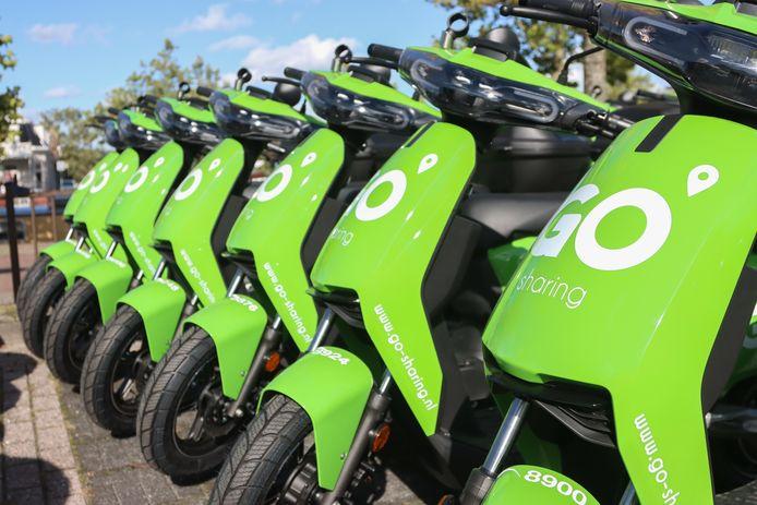 Go-Sharing zal de deelscooters op 27 oktober plaatsen in Dongen.