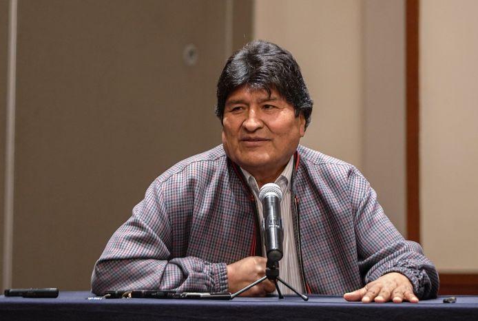 Evo Morales riep zichzelf uit tot winnaar van de presidentsverkiezingen, maar moest nadien ontslag nemen.