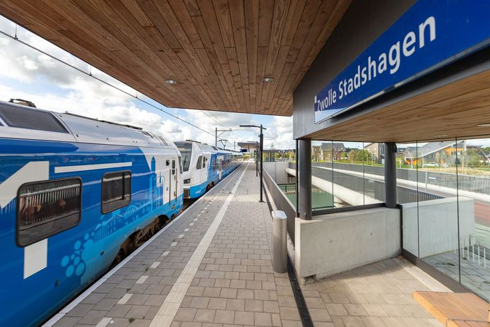 Station Stadshagen gaat op 15 december open