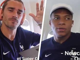 """'Coach' Griezmann haalt Mbappé naar Newcastle voor 134 miljoen, maar die wil daar niet van weten: """"Het is daar niet warm, hé..."""""""