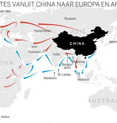 Steeds meer bedenkingen over China's Nieuwe Zijderoute