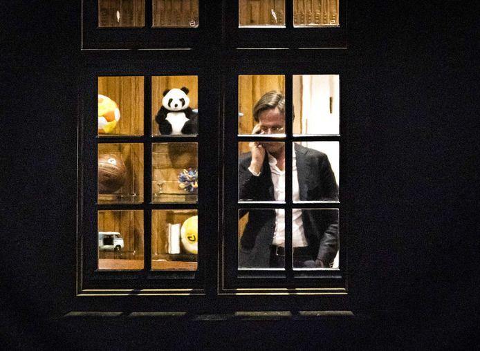 VVD-leider Mark Rutte in het Torentje.