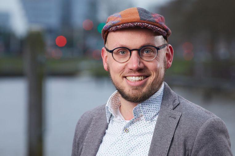 Matthias Olthaar is lector circulaire economie bij NHL Stenden Hogeschool en is gepromoveerd op mondiale productieketens. Beeld