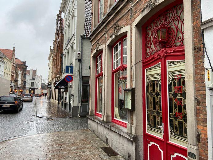 Restaurant China in Brugge neemt opvallende maatregel tegen het coronavirus