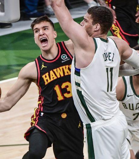 Bucks ook zonder sterspeler de baas: één zege verwijderd van plek in NBA Finals