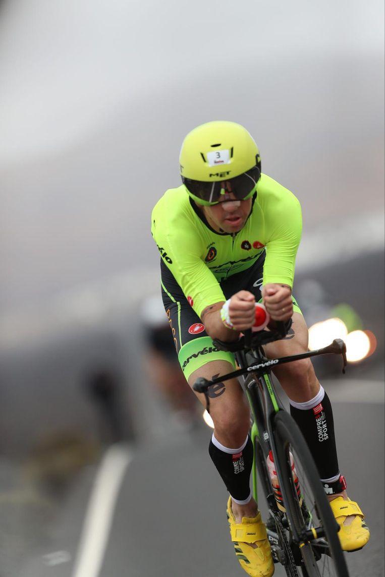 Frederik Van Lierde op de Ironman van Lanzarote.