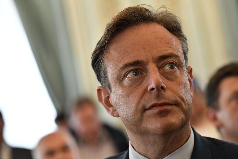 Burgemeester van Antwerpen Bart De Wever. Beeld Belga