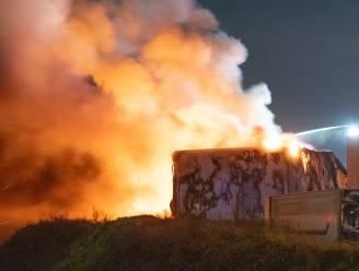 Branddeskundige onderzoekt oorzaak van industriebrand